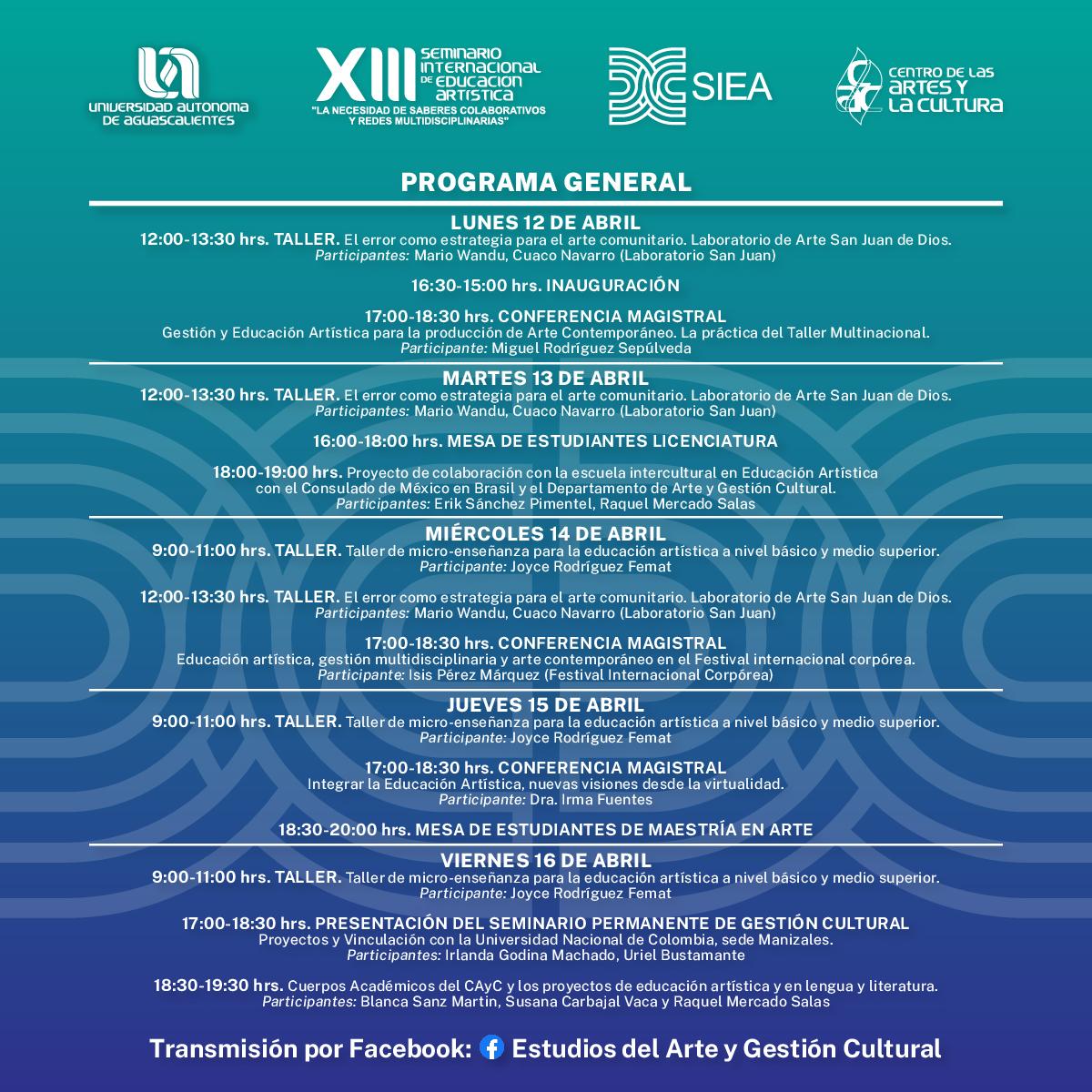 XIII Seminario Internacional de Educación Artística
